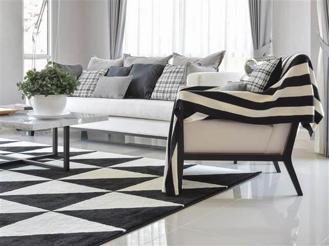 שבעה טיפים לעיצוב מודרני לסלון
