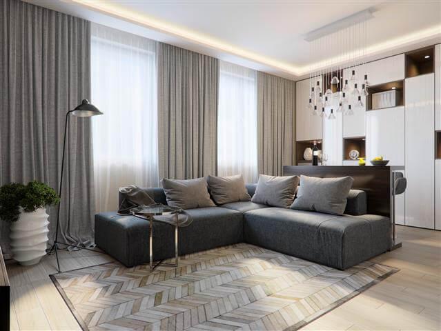 שטיח מודרני לבית השקעה לטווח ארוך