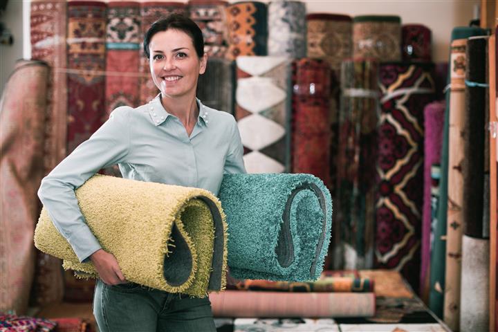 איך לבחור את צבע השטיח?